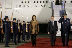 Presidente de Francia ya está en Colombia para conocer las zonas veredales