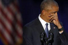 Los famosos se despiden de Obama en las redes y reciben, con críticas, a Trump