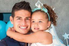 La hija de James nos enseña el valor de la sencillez, ¡linda familia!