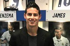 La aficionada que tiene enloquecido a James, ¡qué apoyo para anotar goles!