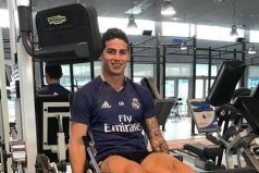James Rodríguez regresa a entrenamientos