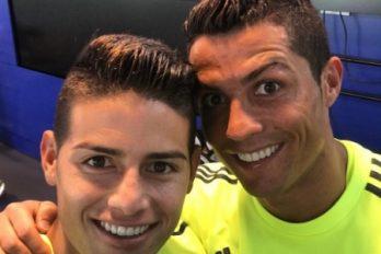 Cristiano Ronaldo evitó que James se fuera al Chelsea