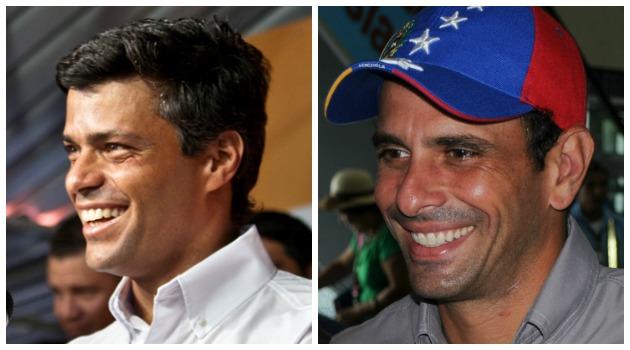 Leopoldo López y su apoyo a las acusaciones de Henrique Capriles