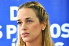"""""""La dictadura tortura todos los días a Leopoldo López"""",  Lilian Tintori"""