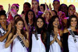 Estas son las latinas que pisan fuerte en las pasarelas de Miss Universo