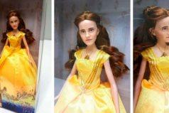 ¿A quién se parece la nueva muñeca de 'La Bella y la Bestia'? ¿Emma o Justin?