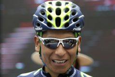 Nairo Quintana continúa en la lucha por el título en la Tirreno Adriático
