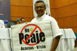 Este hombre se negó a pagar un peaje en la vía Acacias – Villavicencio como forma de protesta ¿Qué opinas?
