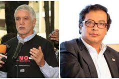 Peñalosa señala a Petro de promover actos violentos en la Plaza de Toros la Santamaría