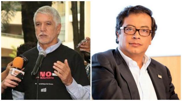 Penalosa culpó a Petro de promover actos violentos en la Plaza de Toros la Santamaría