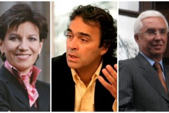 La alianza entre Claudia López, Sergio Fajardo y Jorge Robledo, para ganar las elecciones en 2018