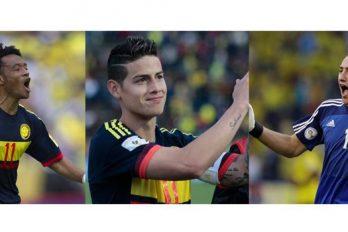 Así celebraron los jugadores colombianos su buena actuación en la eliminatoria camino al mundial de Rusia