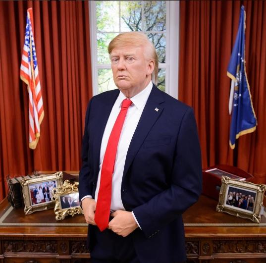 Donald Trump ya tiene su estatua de cera en el museo de Madame Tussauds