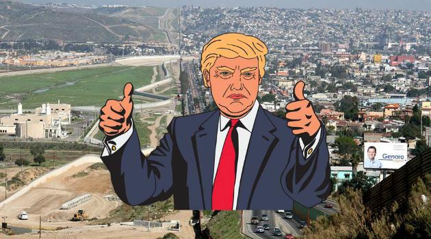 Así sería el muro que se construirá en la frontera entre Estados Unidos y México