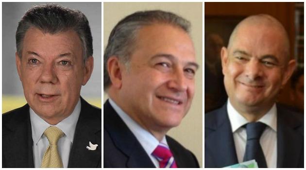 Santos confirma salida de Vergas Lleras y nombramiento del General (r) Naranjo como nuevo Vicepresidente
