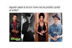 ¿Alguien sabe si Bruno Mars se pudo quitar el anillo?