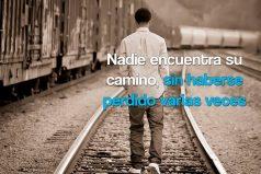 Nadie encuentra su camino…