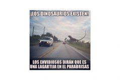 ¡Los dinosaurios existen!