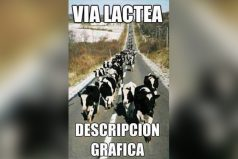Vía láctea: Descripción gráfica