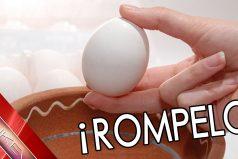 ¡A que no puedes romper un huevo con los dedos! 20 retos imposibles o improbables. ¡Aunque no lo creas!