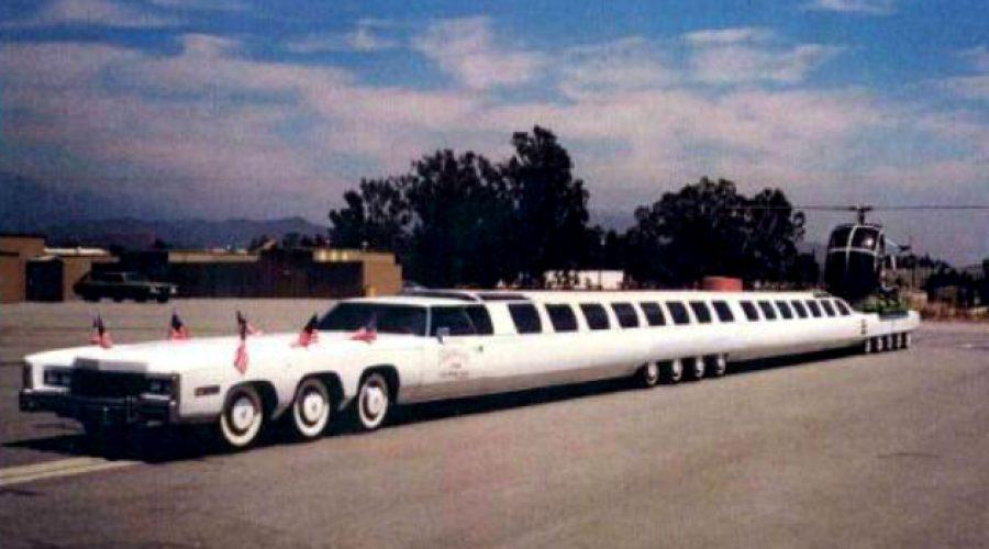 Así es el carro más largo del mundo