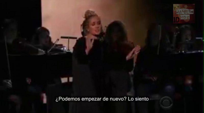 Adele-se-equivoca-en-los-GRAMMYS-2017-Tributo-George-Michael-Subtitulado