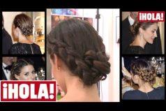 Aprende a peinarte como la Reina Letizia: su hermoso recogido, paso a paso. ¡Consigue un look de sangre azul!