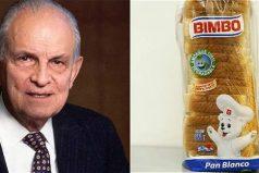 ¿Te gusta el pan? Murió el creador de pan Bimbo, ¡que triste noticia!