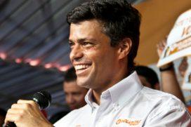 Ratifican condena a 14 años de prisión a Leopoldo López