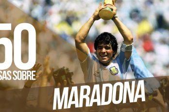 ¿Recuerdas a Maradona? Conoce todos sus secretos