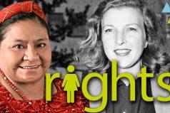 Mujeres que lucharon por tus derechos, ¡todas las mujeres merecemos una vida hermosa!