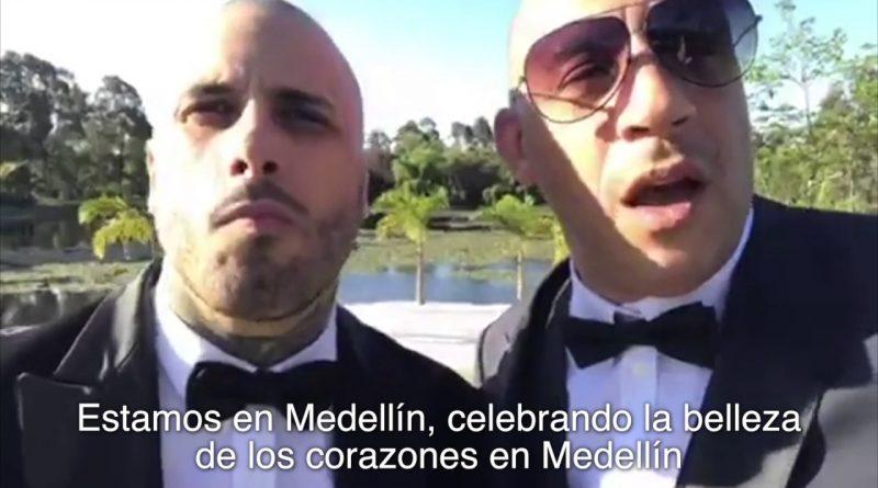 Nicky-Jam-y-Vin-Diesel-hablan-maravillas-de-Medellín
