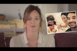 La modelo argentina Paula Chaves promueve el parto natural con esta campaña. ¡No a las cesáreas inecesarias!