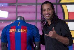 Ronaldinho confirma que piensa en no volver a jugar fútbol profesional