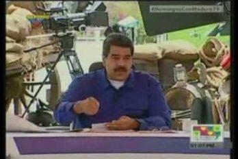 Así confrontó esta estudiante a Maduro sobre la realidad en las escuelas venezolanas. ¡Se desmayan del hambre, señor presidente!