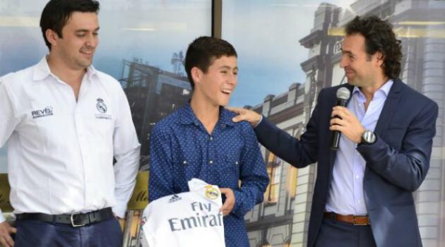 El sueño del 'ángel del Chapecoense' de conocer James, Cristiano y Zidane se hará realidad
