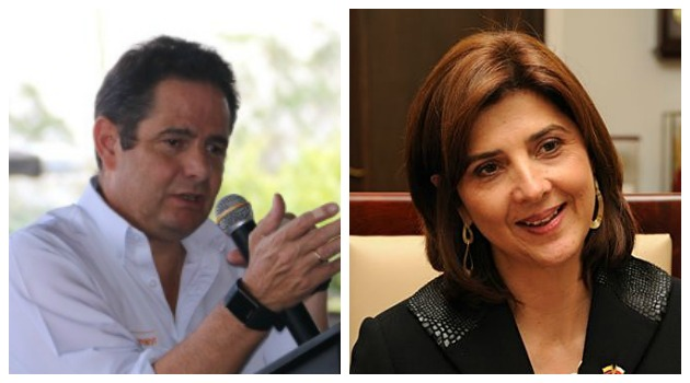 Los reclamos entre Germán Vargas Lleras y la canciller María Ángela Holguín