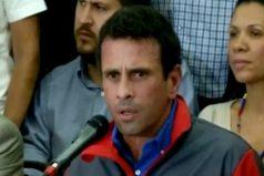 """""""En Venezuela hay hambre y al gobierno no le importa"""", Henrique Capriles"""