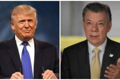 Donald Trump invitó a la Casa Blanca a Juan Manuel Santos