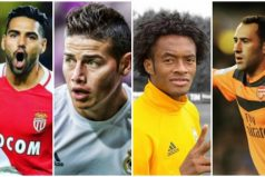 James, Falcao, Ospina y Cuadrado, estarán en los octavos de final en la Champions League