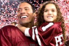 El increíble cambio de la niña que protagonizó 'Entrenando a Papá' junto a 'La Roca'