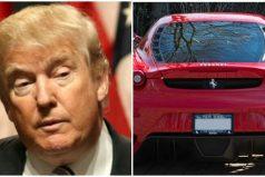 Venden Ferrari que perteneció a Donald Trump por 350 mil dólares