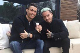 Mira qué hacían Cristiano Ronaldo y J Balvin juntos en España