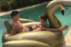 El hermoso 'show' de celos de la hija de James Rodríguez, ¡gran manejo el de James!