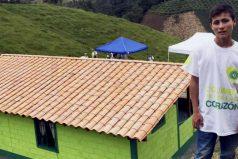 El 'Niño Ángel ' de la tragedia del Chapecoense recibió una nueva casa