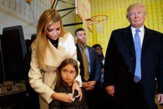 El lado tierno de Donald Trump, ¡es una belleza!