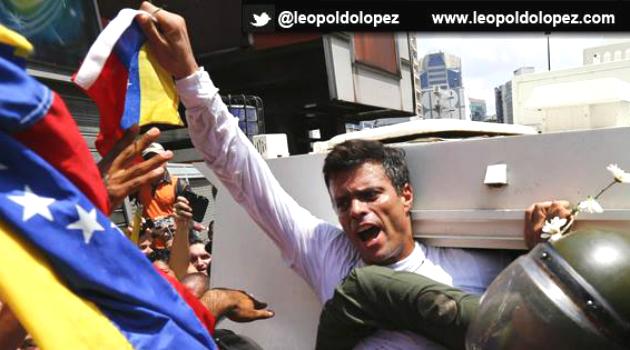 Leopoldo López cumple 3 años de estar en prisión y convoca a marcha contra Maduro