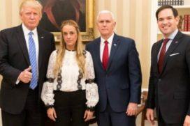 Donald Trump le pide a Maduro liberar a Leopoldo López