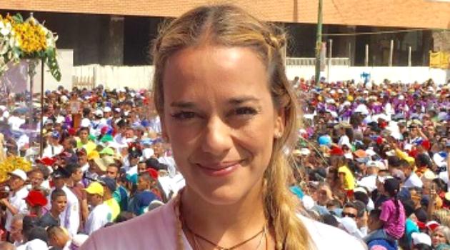 Lilian Tintori solicita a Trump que cumpla la ley en Venezuela