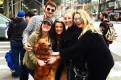 La historia de la perrita que regala abrazos en Nueva York, ¡los animales son el amor más puro del mudo!